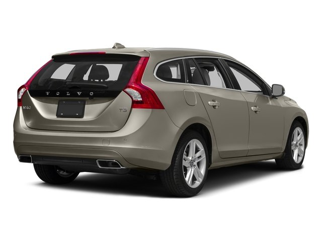 2017 Volvo V60 Prices and Values Wagon 4D T5 Platinum AWD Turbo side rear view