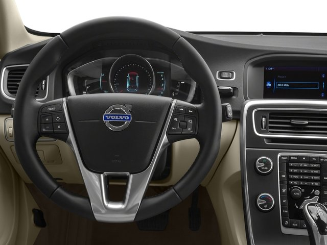 2017 Volvo V60 Prices and Values Wagon 4D T5 Platinum AWD Turbo driver's dashboard