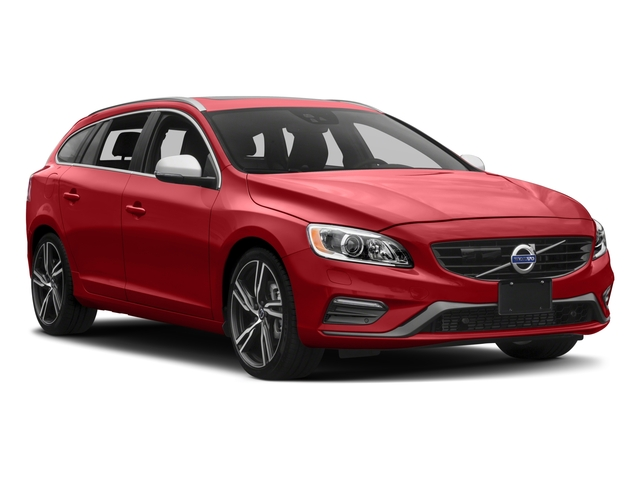 2017 Volvo V60 Prices and Values Wagon 4D T6 R-Design Platinum AWD side front view