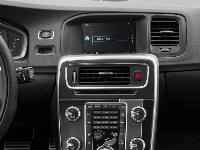 2017 Volvo V60 Prices and Values Wagon 4D T6 R-Design Platinum AWD stereo system