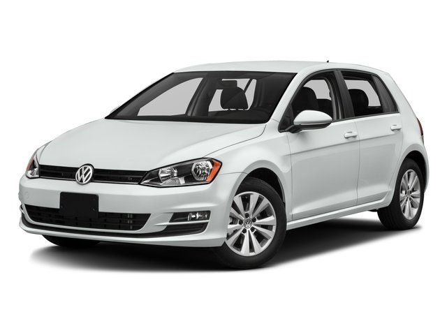 2017 Volkswagen Golf Base Price 1.8T 4-Door SEL Auto Pricing side front view
