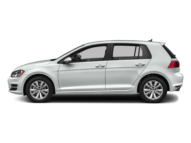2017 Volkswagen Golf Base Price 1.8T 4-Door SEL Auto Pricing side view