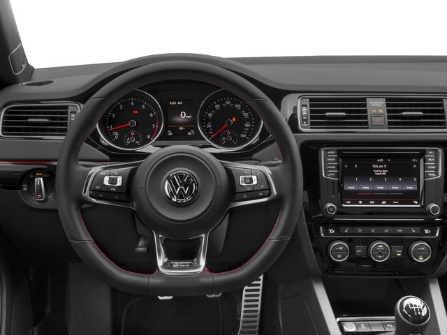 2017 Volkswagen Jetta Base Price GLI Manual Pricing driver's dashboard