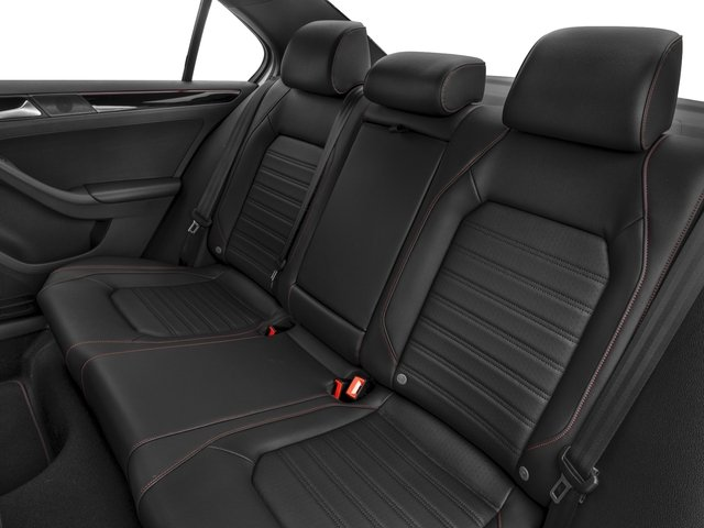 2017 Volkswagen Jetta Base Price GLI Manual Pricing backseat interior