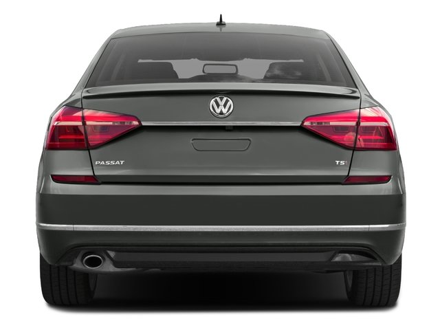 2017 Volkswagen Passat Base Price R-Line w/Comfort Pkg Auto Pricing rear view