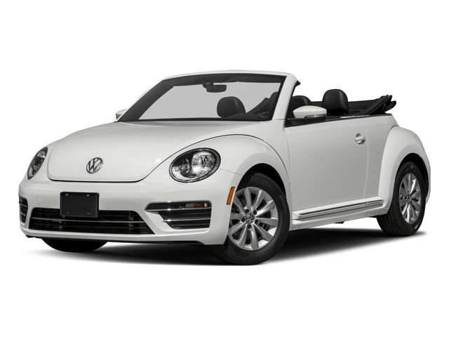 2017 Volkswagen Beetle Convertible Pictures Beetle Convertible 1.8T Classic Auto photos side front view