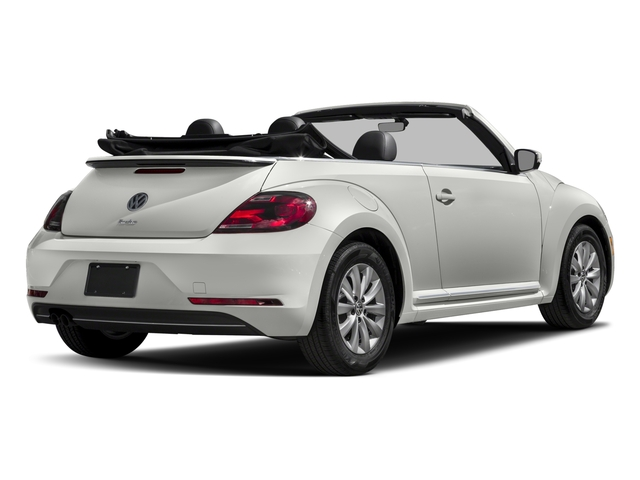 2017 Volkswagen Beetle Convertible Pictures Beetle Convertible 1.8T Classic Auto photos side rear view