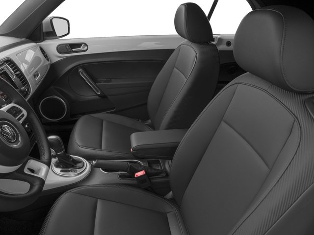 2017 Volkswagen Beetle Convertible Base Price 1.8T SE Auto Pricing front seat interior