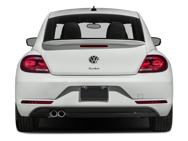 2017 Volkswagen Beetle Pictures Beetle 1.8T Classic Auto photos rear view