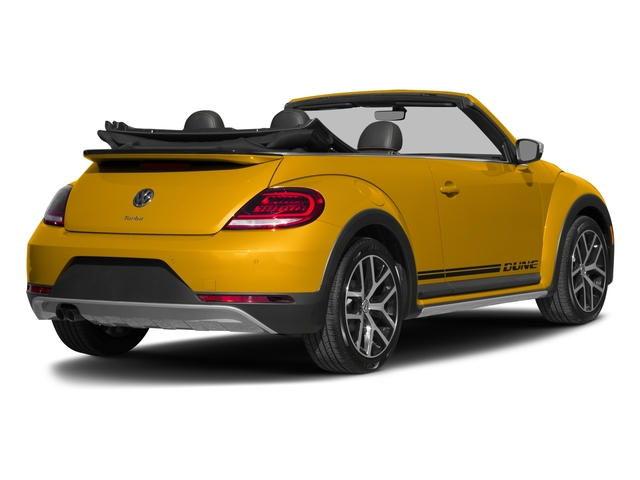 2017 Volkswagen Beetle Convertible Base Price 1.8T Dune Auto Pricing side rear view