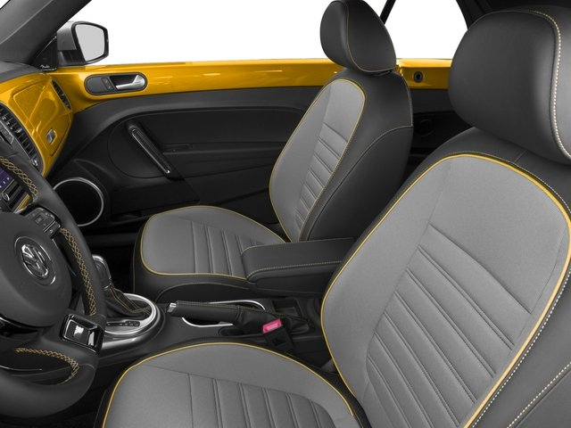 2017 Volkswagen Beetle Convertible Base Price 1.8T Dune Auto Pricing front seat interior