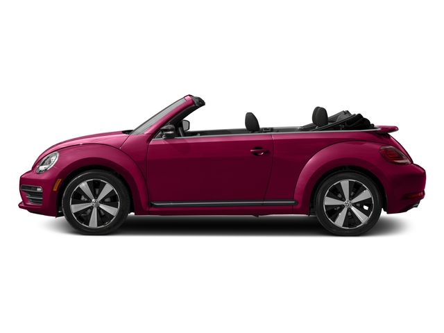 2017 Volkswagen Beetle Convertible Pictures Beetle Convertible #PinkBeetle Auto photos side view