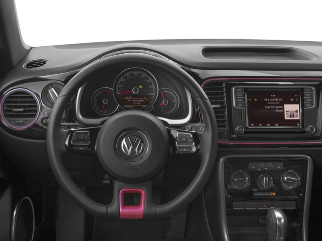 2017 Volkswagen Beetle Convertible Pictures Beetle Convertible #PinkBeetle Auto photos driver's dashboard