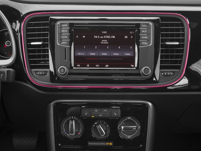 2017 Volkswagen Beetle Pictures Beetle #PinkBeetle Auto photos stereo system