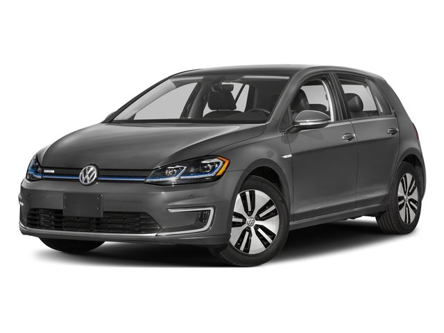2017 Volkswagen e-Golf Base Price 4-Door SE Pricing side front view