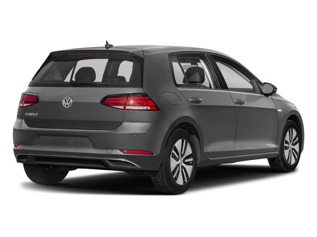 2017 Volkswagen e-Golf Base Price 4-Door SE Pricing side rear view
