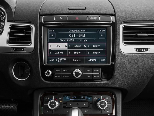 2017 Volkswagen Touareg Base Price V6 Executive Pricing stereo system