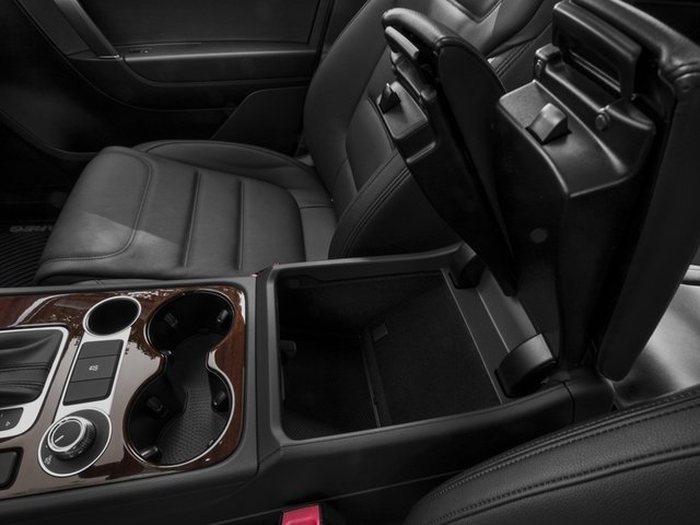 2017 Volkswagen Touareg Pictures Touareg V6 Wolfsburg Edition photos center storage console