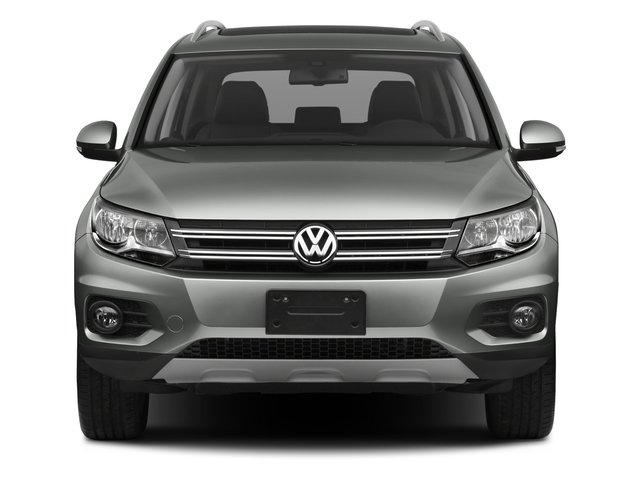 2017 Volkswagen Tiguan Base Price 2.0T Wolfsburg Edition FWD Pricing front view