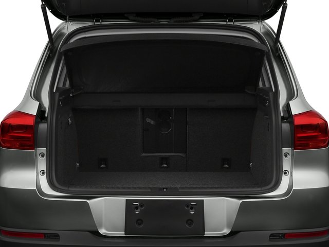 2017 Volkswagen Tiguan Base Price 2.0T Wolfsburg Edition FWD Pricing open trunk