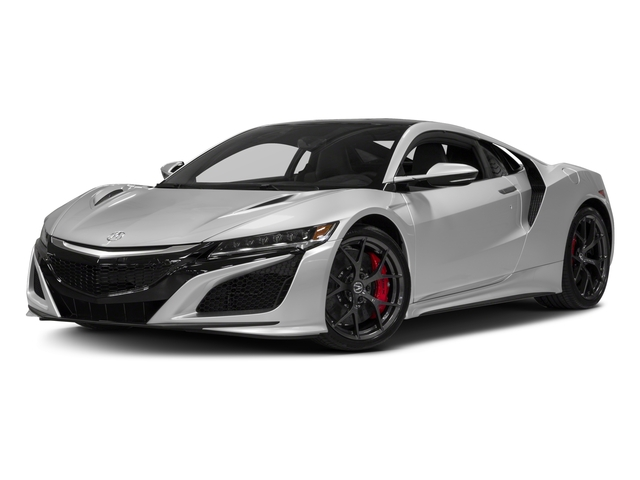 2018 Acura NSX Prices and Values Coupe 2D AWD Hybrid Turbo side front view