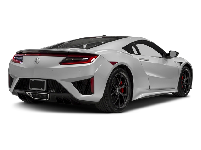 2018 Acura NSX Pictures NSX Coupe 2D AWD Hybrid Turbo photos side rear view