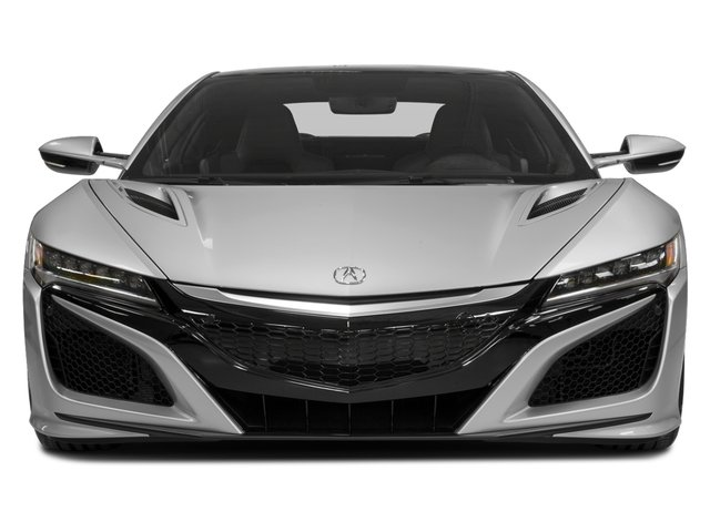 2018 Acura NSX Pictures NSX Coupe 2D AWD Hybrid Turbo photos front view