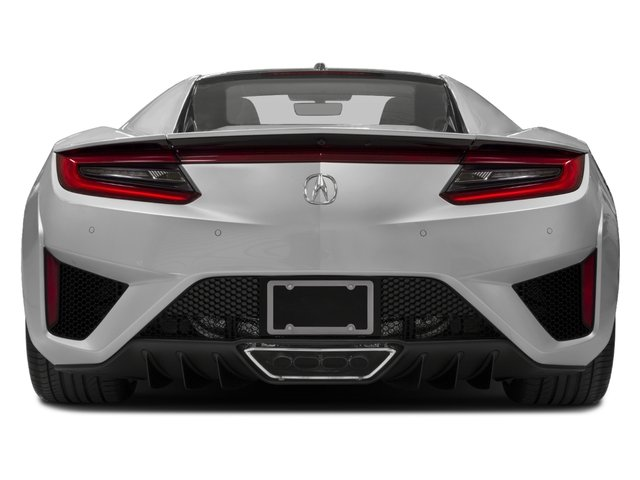 2018 Acura NSX Prices and Values Coupe 2D AWD Hybrid Turbo rear view