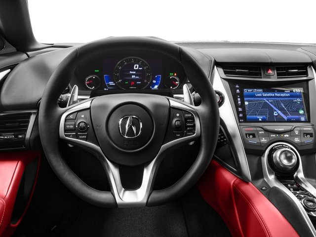 2018 Acura NSX Base Price Coupe Pricing driver's dashboard