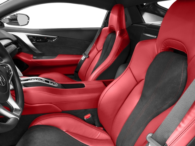 2018 Acura NSX Base Price Coupe Pricing front seat interior