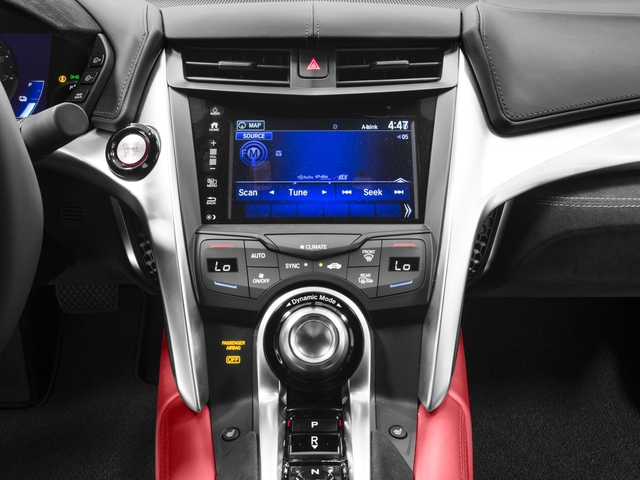 2018 Acura NSX Base Price Coupe Pricing stereo system