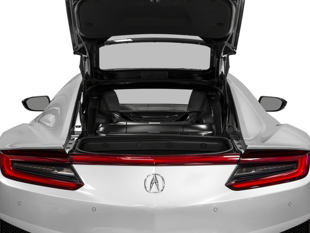 2018 Acura NSX Base Price Coupe Pricing open trunk