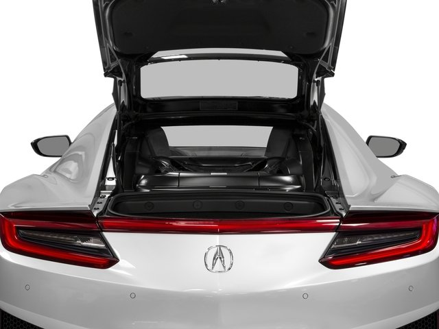 2018 Acura NSX Prices and Values Coupe 2D AWD Hybrid Turbo open trunk