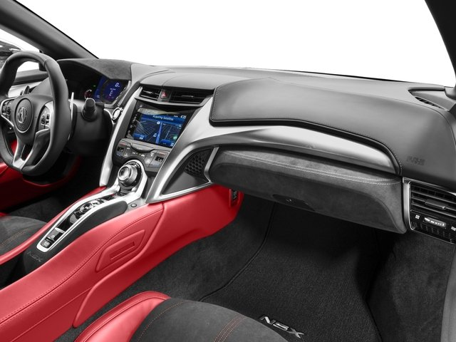 2018 Acura NSX Prices and Values Coupe 2D AWD Hybrid Turbo passenger's dashboard