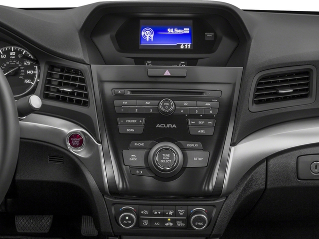 2018 Acura ILX Pictures ILX Sedan photos stereo system