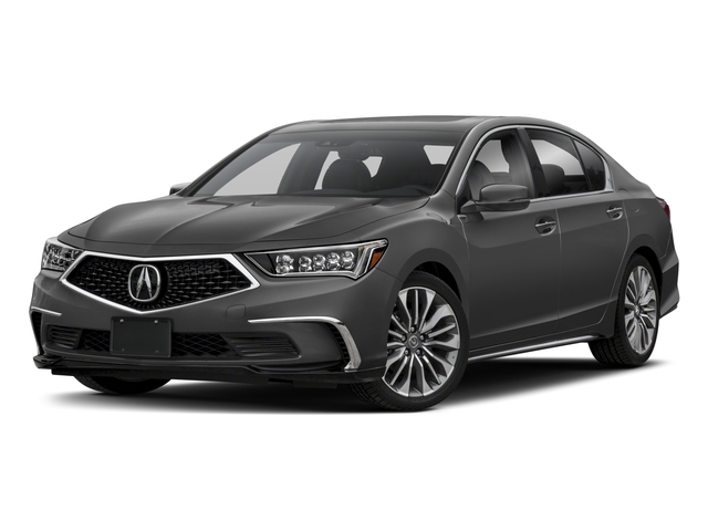 2018 Acura RLX Base Price Sedan w/Technology Pkg Pricing side front view