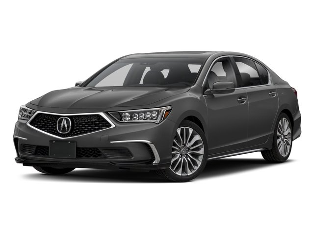 2018 Acura RLX Pictures RLX Sedan w/Technology Pkg photos side front view
