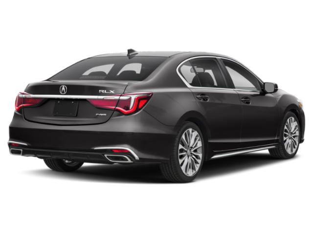 2018 Acura RLX Pictures RLX Sedan 4D photos side rear view