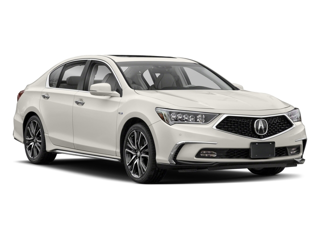 2018 Acura RLX Prices and Values Sedan 4D Sport AWD Hybrid side front view