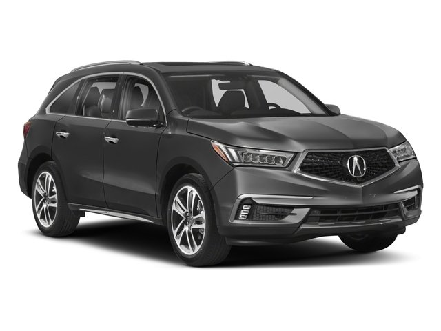 2018 Acura MDX Pictures MDX Utility 4D Advance AWD photos side front view