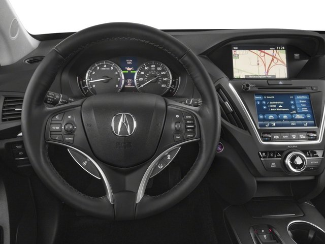 2018 Acura MDX Pictures MDX Utility 4D Advance AWD photos driver's dashboard