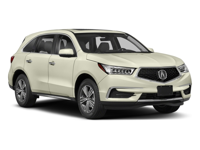 2018 Acura MDX Prices and Values Utility 4D 2WD side front view