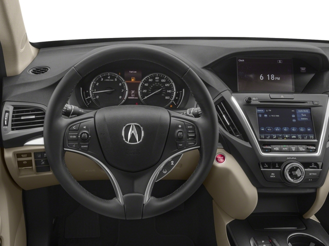 2018 Acura MDX Prices and Values Utility 4D 2WD driver's dashboard