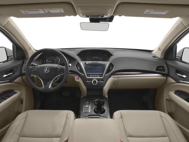 2018 Acura MDX Prices and Values Utility 4D 2WD full dashboard