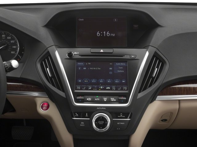 2018 Acura MDX Prices and Values Utility 4D 2WD stereo system