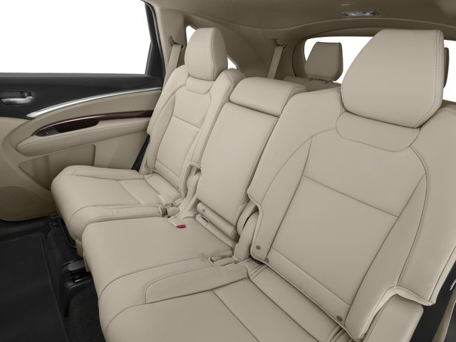2018 Acura MDX Prices and Values Utility 4D 2WD backseat interior