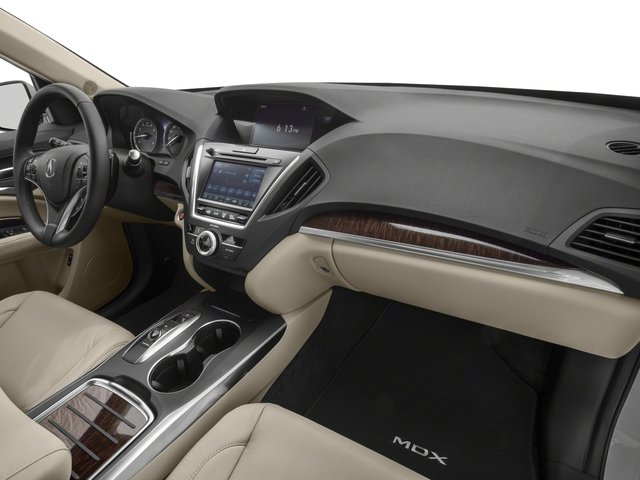 2018 Acura MDX Prices and Values Utility 4D 2WD passenger's dashboard