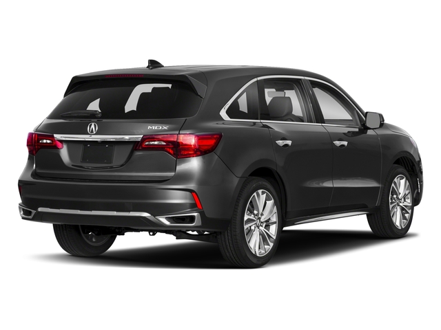 2018 Acura MDX Pictures MDX FWD w/Technology Pkg photos side rear view
