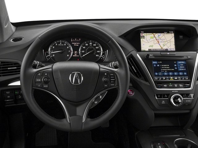 2018 Acura MDX Pictures MDX FWD w/Technology Pkg photos driver's dashboard