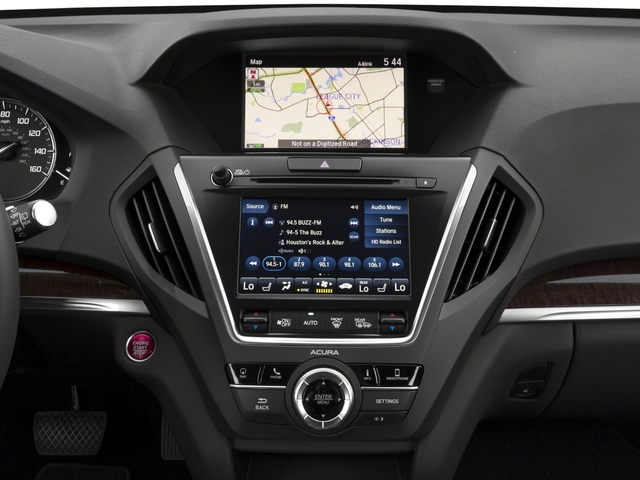 2018 Acura MDX Pictures MDX FWD w/Technology Pkg photos stereo system